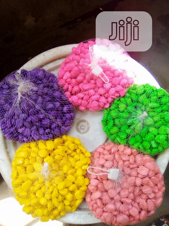 Colourful Pebbles For Aquerium And Bowls