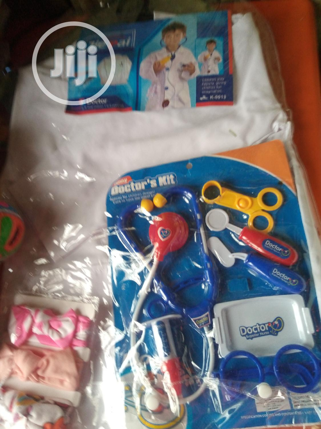 Doctor Costume For Kids With Kits