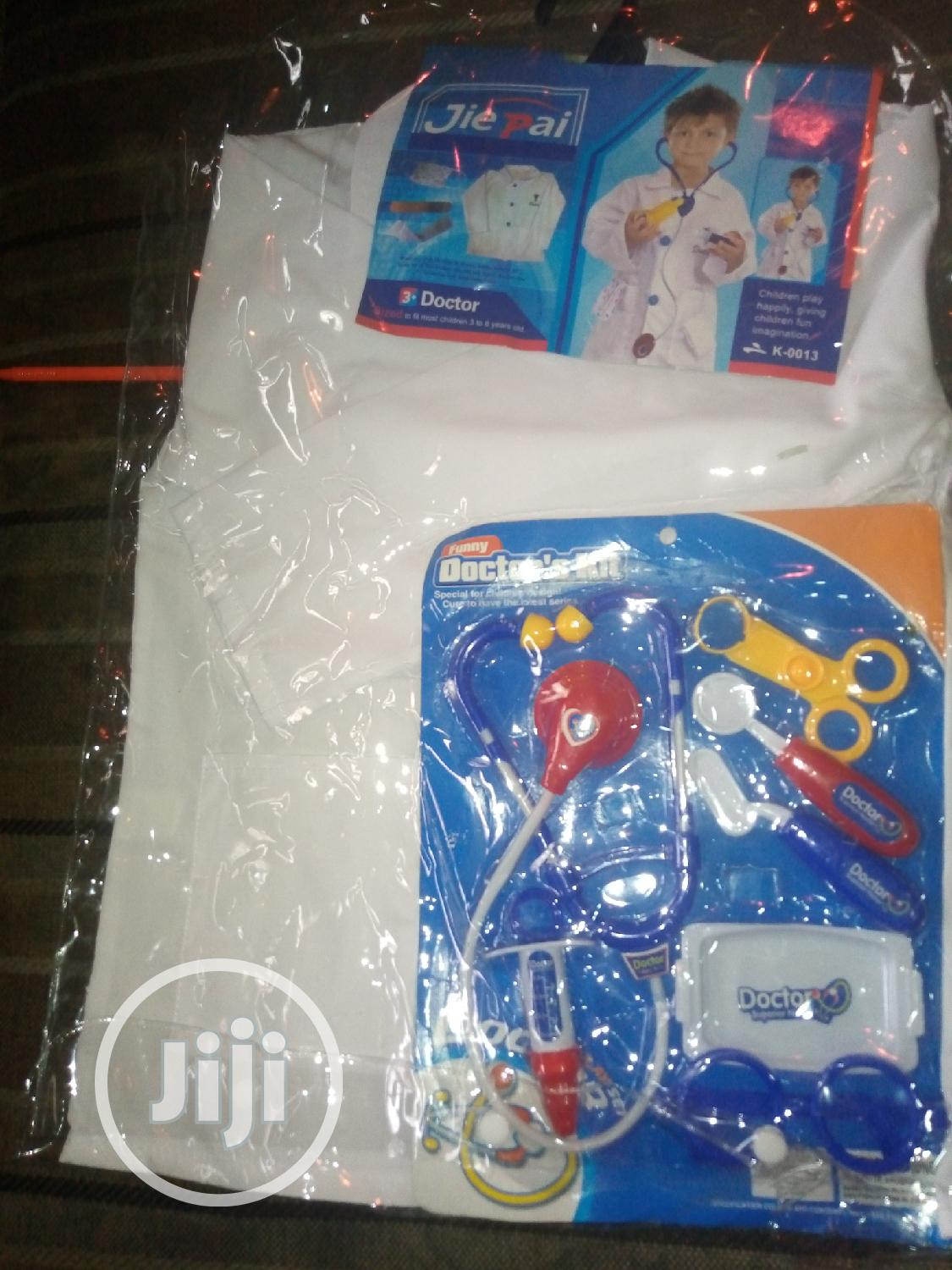Doctor Costume For Kids With Kits | Children's Clothing for sale in Ikeja, Lagos State, Nigeria