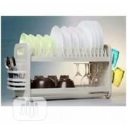 "QASA 22""Plastic Plate Rack 