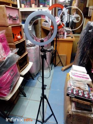 12inches Non Rechargeable Ring Light   Accessories & Supplies for Electronics for sale in Lagos State, Amuwo-Odofin