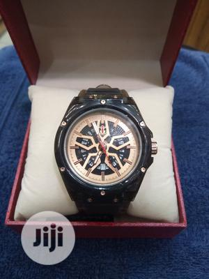 Nepic Men's Black Rubber Wristwatch | Watches for sale in Lagos State, Surulere