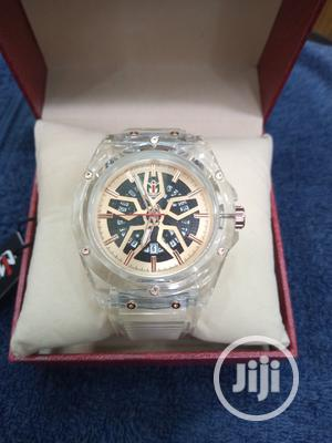 Nepic Men's White Rubber Wristwatch | Watches for sale in Lagos State, Surulere