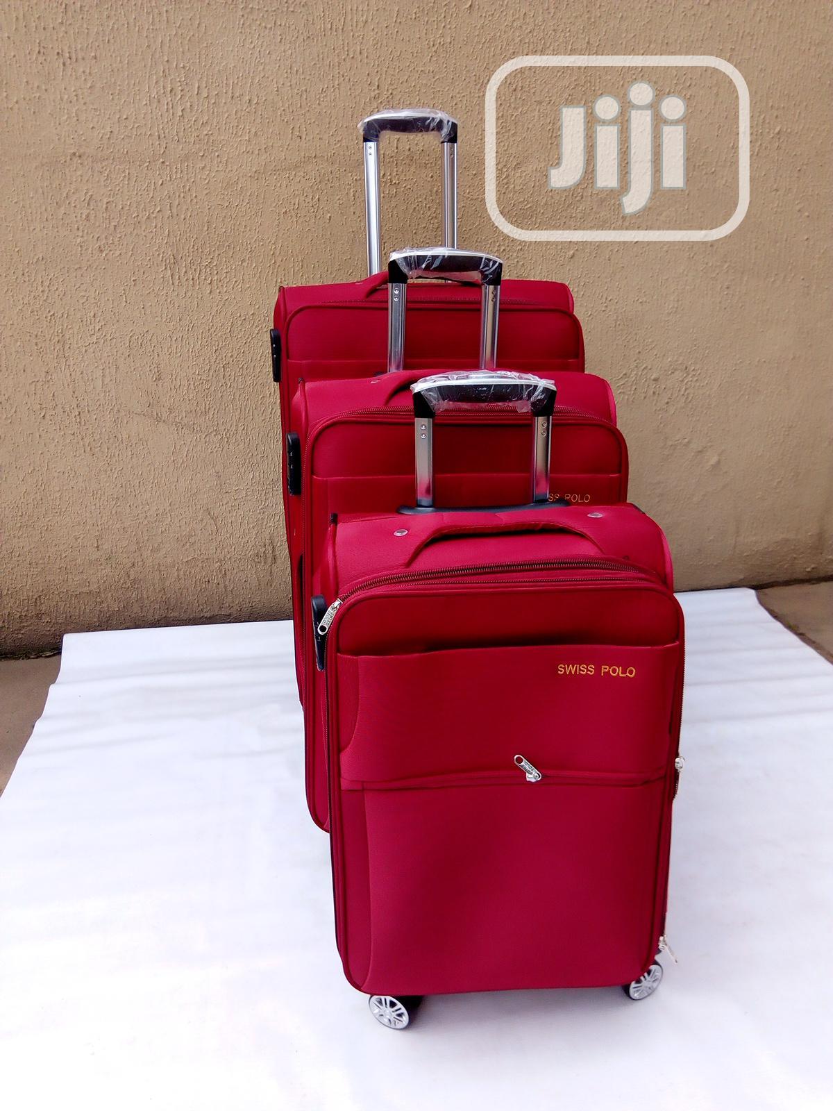 3 Set Durable Travel Luggage