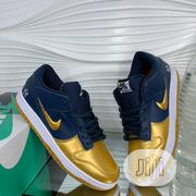 Nike Sneaker With Gold and Black Touch of Colors Order Yours Now | Shoes for sale in Lagos State, Lagos Island
