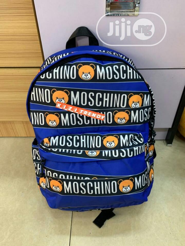 Moschino Designer Backpack