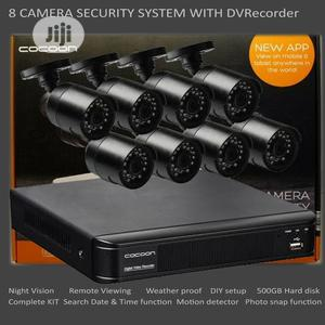 8 Camera CCTV Security System With DVR   Security & Surveillance for sale in Lagos State