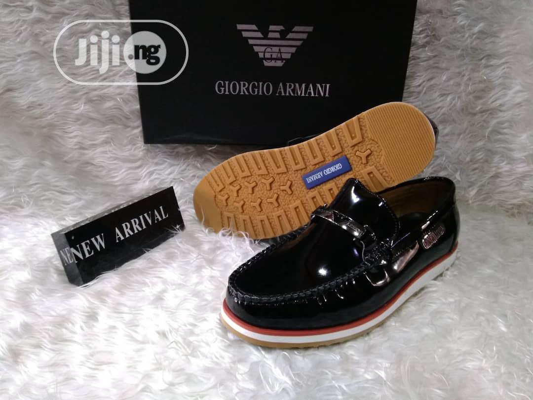 Loafers Wet Lips Leather Shoes