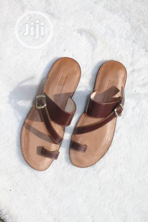 Brown Leather Bucked Slip On #MINUEL PRODUCT | Shoes for sale in Lagos State, Apapa