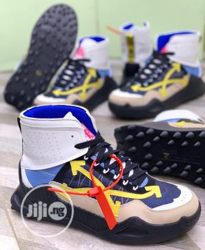 Off White Ddsy-1000•|High Top Sneakers Original | Shoes for sale in Lagos State, Surulere