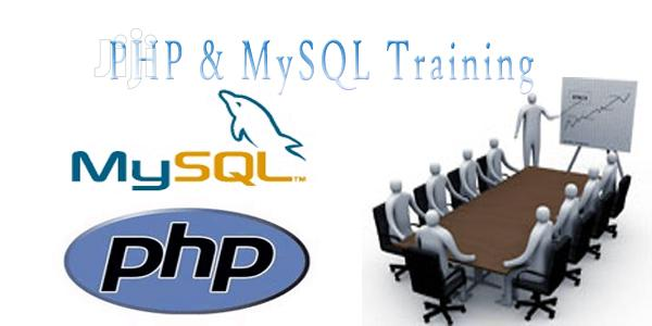 Personal PHP And MYSQLI Training