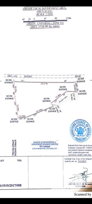 Commercial Land for Sale | Land & Plots For Sale for sale in Osun State, Oriade