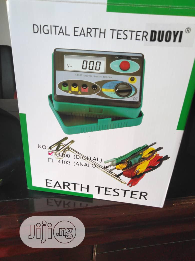 Archive: Digital Earth Tester