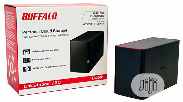 Archive: Buffalo LS520D0802-EU 8TB (2 X 4TB) Linkstation 520D 2 Bay Desktop NAS