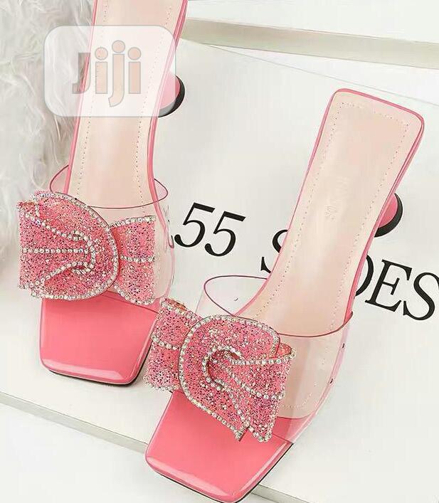 Classy Female Heel Slippers
