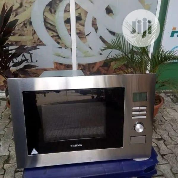 Phiima Built in Microwave -Silver