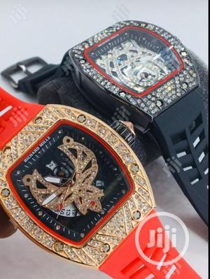 Richard Mille Rubber Strap Watch | Watches for sale in Lagos State, Lagos Island (Eko)