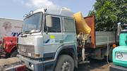 Tokunbo 11.3tons Hiab Iveco Eight Tyres Truck With Half Sided Body | Heavy Equipment for sale in Lagos State, Apapa