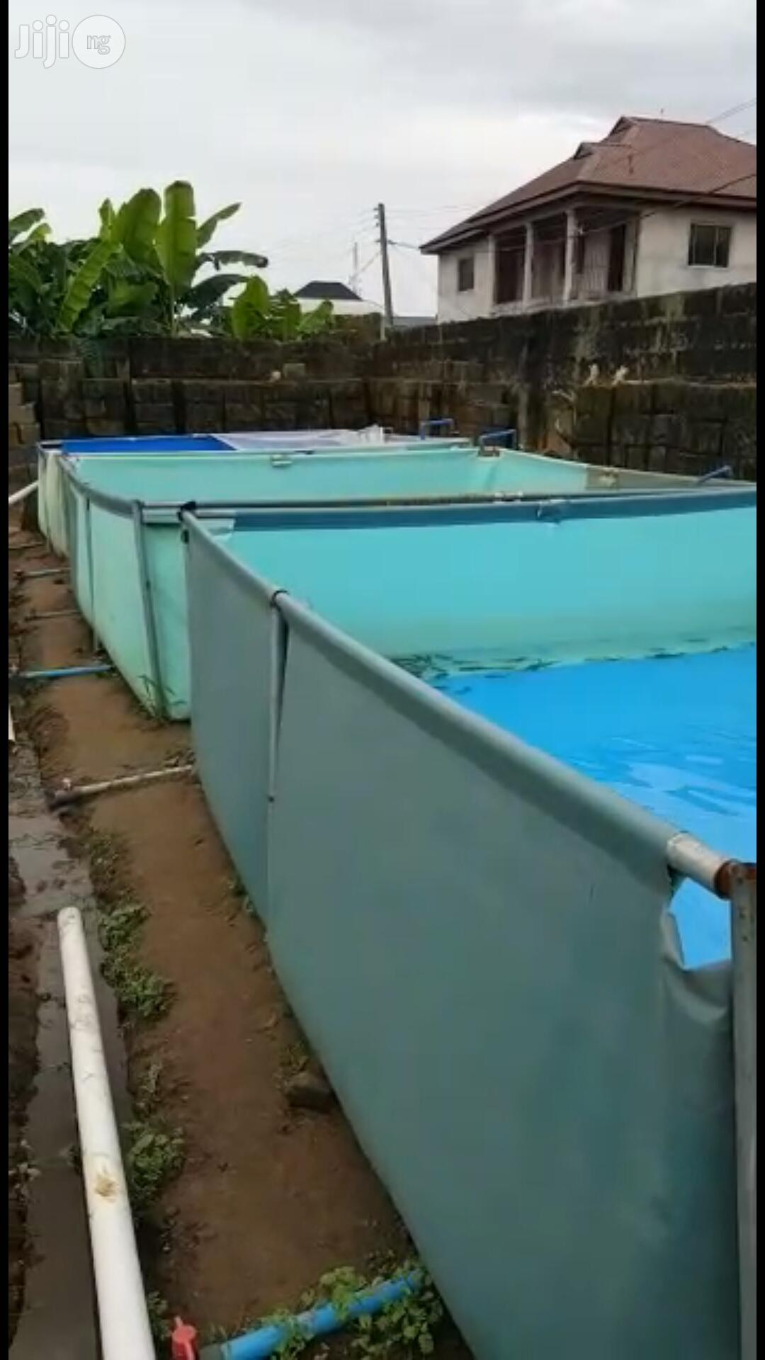 Fish Pond Construction Of Adjustable Tapolyne Fish Pond | Farm Machinery & Equipment for sale in Port-Harcourt, Rivers State, Nigeria