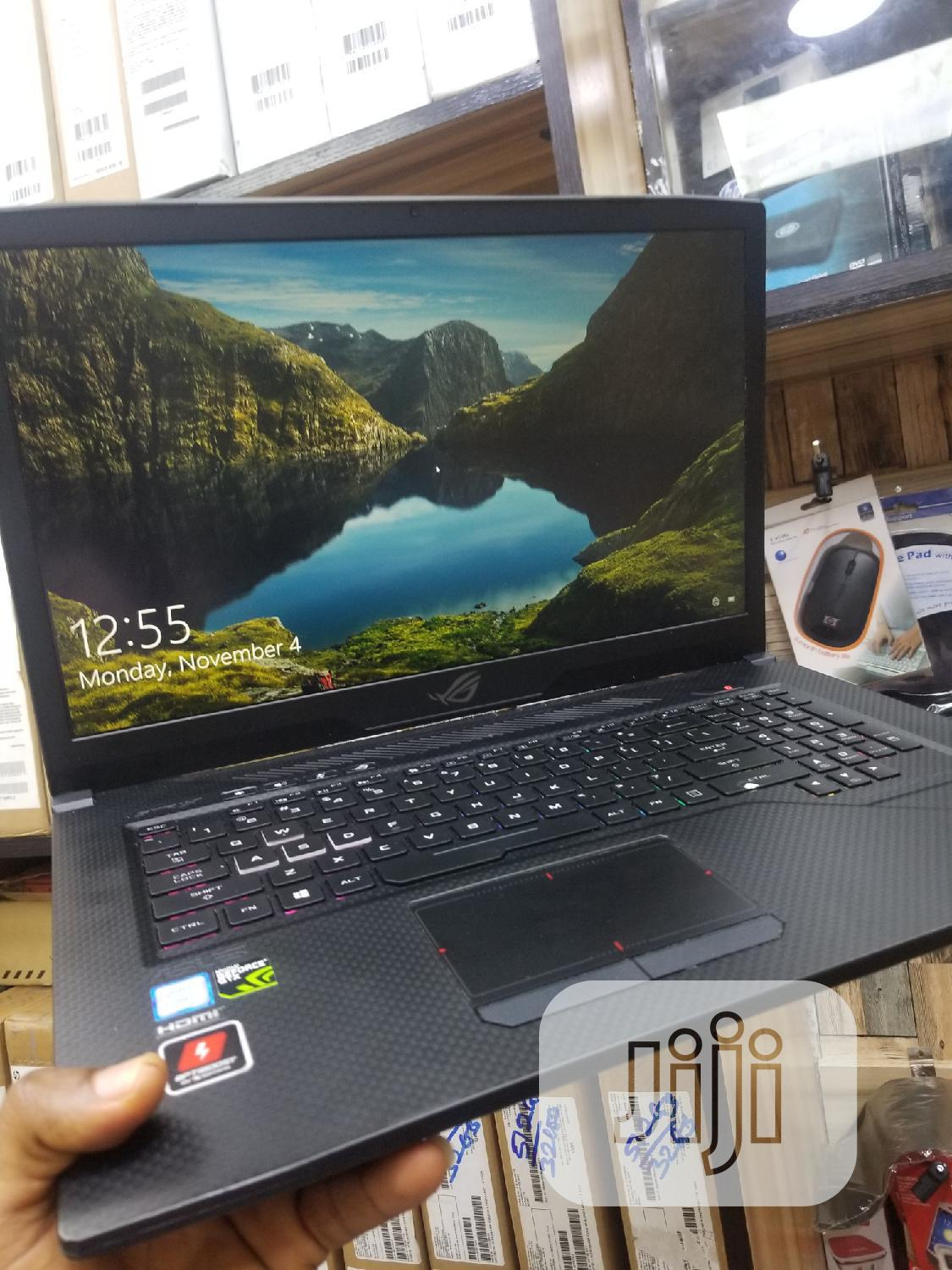 Laptop Asus ROG Strix GL703 16GB Intel Core i7 SSD 256GB | Laptops & Computers for sale in Ikeja, Lagos State, Nigeria