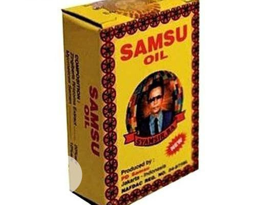 Samsu Long Lasting Ejaculation /Erection Oil For Sex +Erection