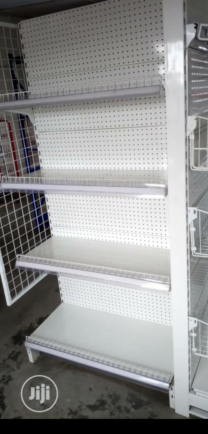 Supermarket Single Sided Display Shelving   Store Equipment for sale in Lagos State, Nigeria
