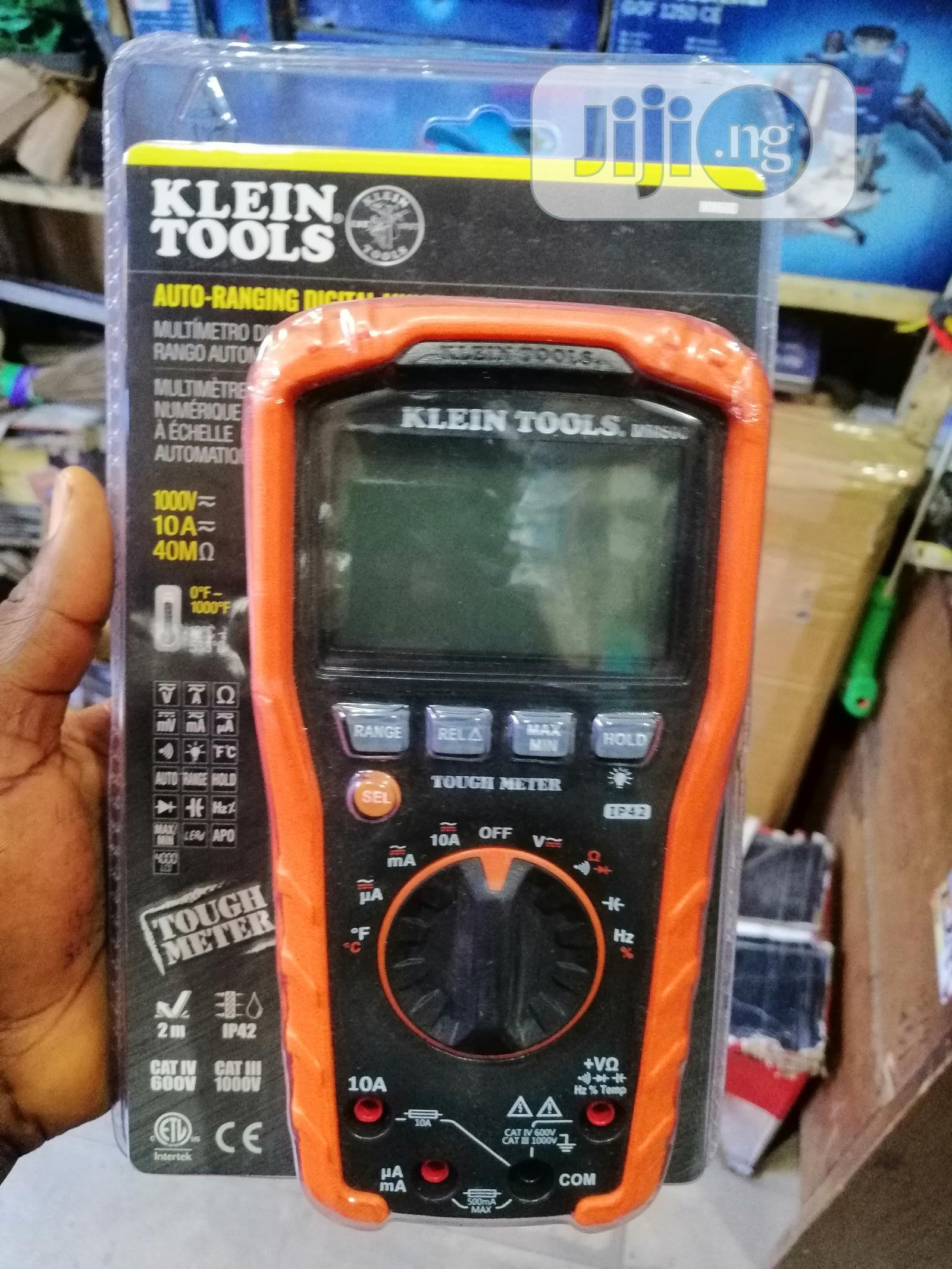 Klein Tools MM600 Digital Multimeter   Measuring & Layout Tools for sale in Amuwo-Odofin, Lagos State, Nigeria