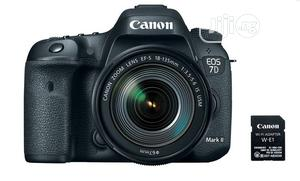 Canon EOS 7D Mark II DSLR Camera With 18-135mm   Photo & Video Cameras for sale in Lagos State, Ikeja