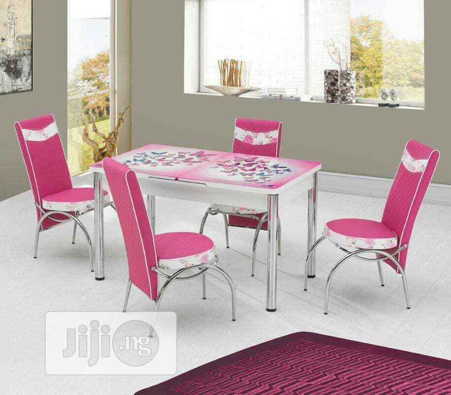 Kabba High Quality Dining Sets With Six Chairs