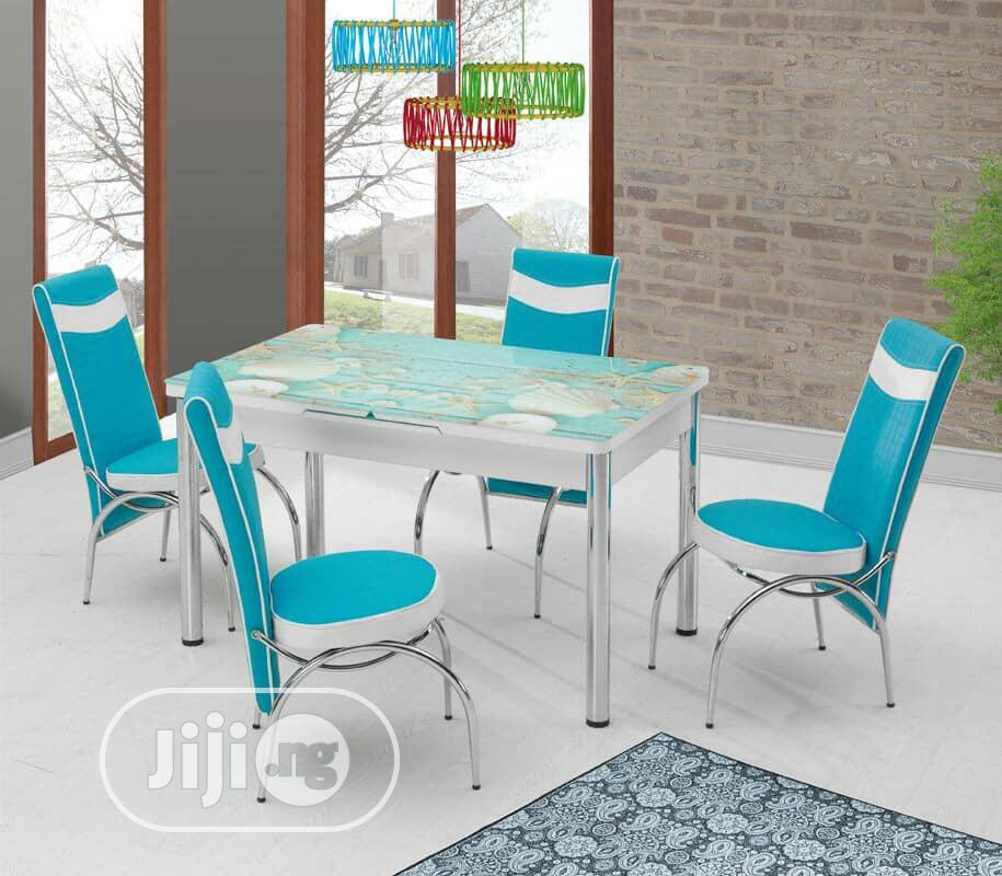 Kabba High Quality Dining Sets With Six Chairs   Furniture for sale in Kubwa, Abuja (FCT) State, Nigeria