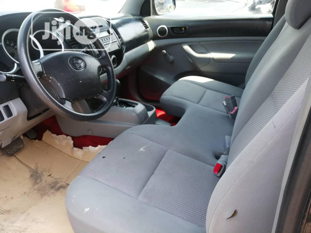 Toyota Tacoma 2007 Access Cab Black   Cars for sale in Apapa, Lagos State, Nigeria