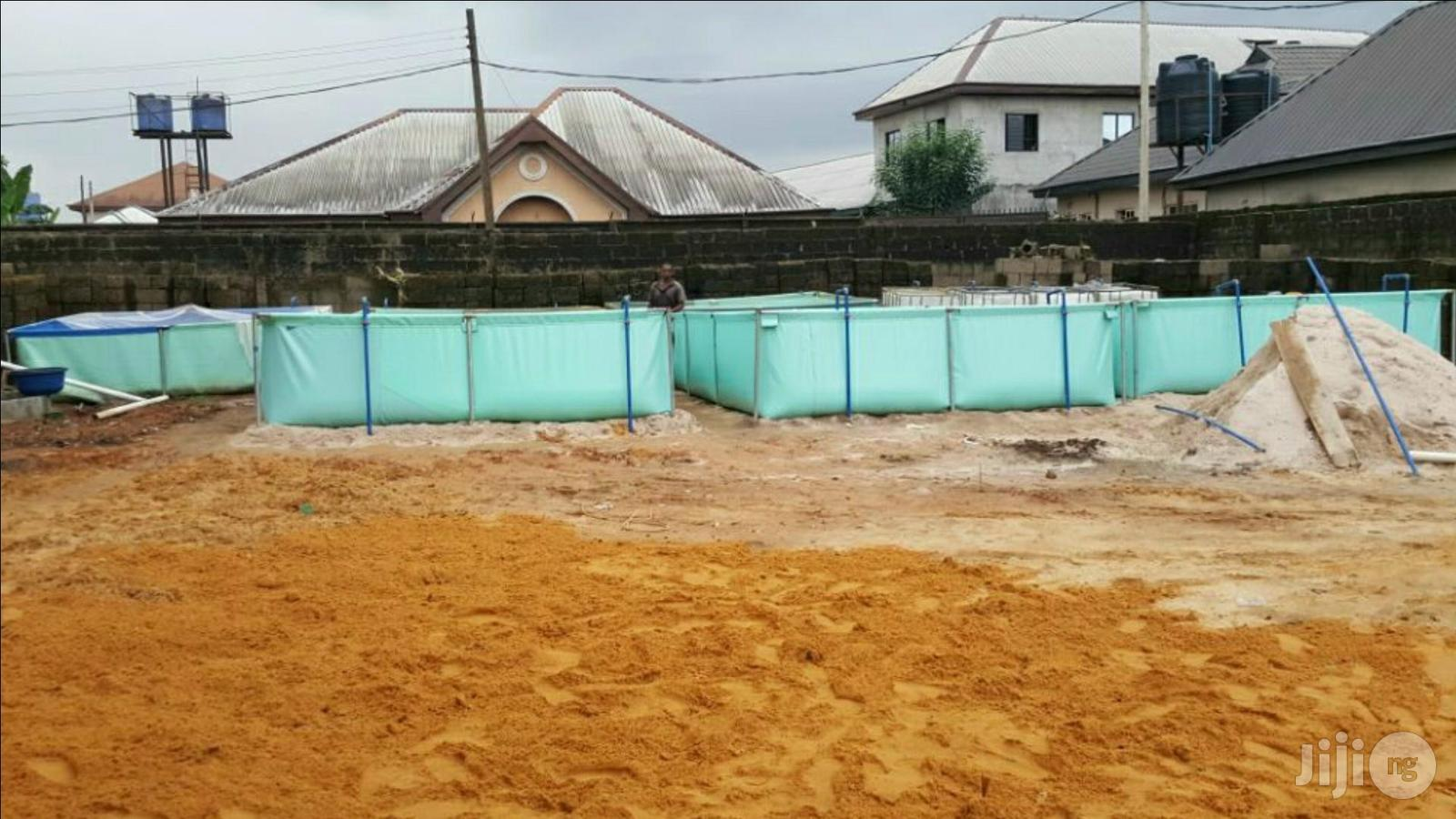 Fish Pond Construction Of Adjustable Tapolyne Fish Pond
