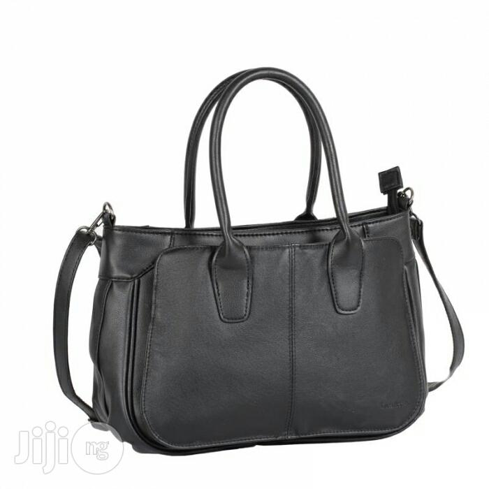 UK Made Luca Bocelli Leather Handbag (Prairie Sand Colour)   Bags for sale in Kaura, Abuja (FCT) State, Nigeria