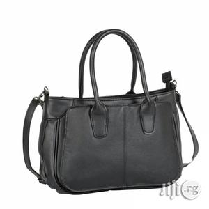 Uk Made Luca Bocelli Leather Women Handbag (Black Colour) | Bags for sale in Abuja (FCT) State, Wuye