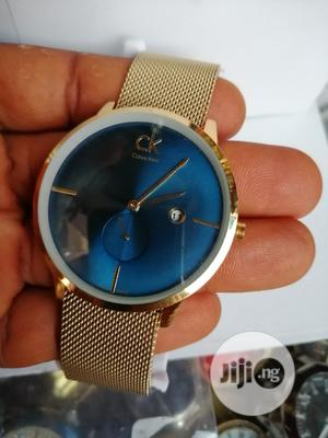 Calvin Klein (CK) Gold Magnetic Chain Watch   Watches for sale in Lagos State, Lagos Island (Eko)