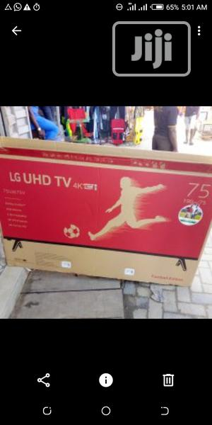 LG 75 Inches LED Smart TV   TV & DVD Equipment for sale in Lagos State, Lekki