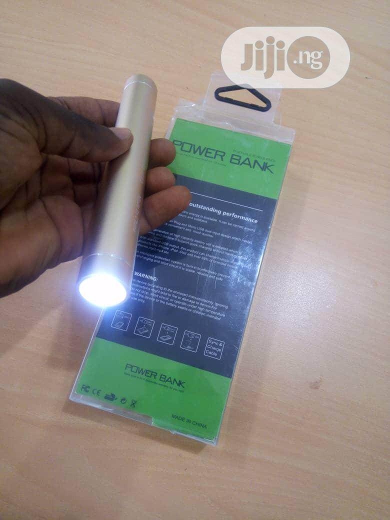 Stylish Powerbank With Led Light | Accessories for Mobile Phones & Tablets for sale in Surulere, Lagos State, Nigeria