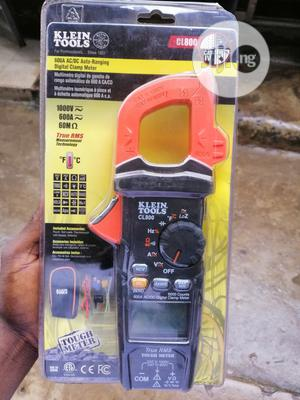 Klein Tools CL800 AC/DC Clamp Meter | Measuring & Layout Tools for sale in Lagos State, Ojo