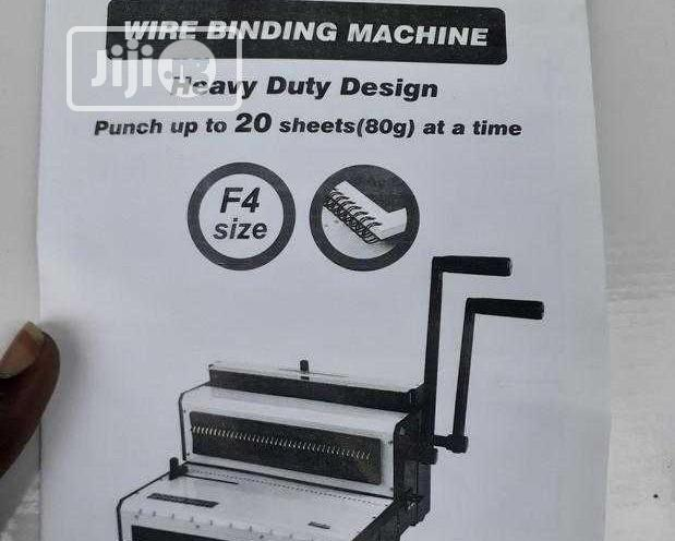 Archive: Calender Wire Binding Machine