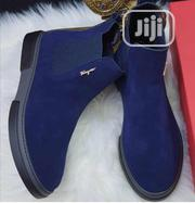 Original Salvador Ferragamo Men's Quality Suede Ankle Boots | Shoes for sale in Lagos State, Lagos Island