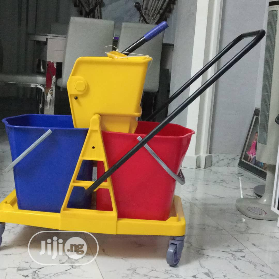 Archive: Quality Industrial Mop Bucket, 2 In 1