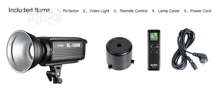 Godox SL-100W 5600k Studio LED Video Light With Big Stand   Accessories & Supplies for Electronics for sale in Lagos Island (Eko), Lagos State, Nigeria