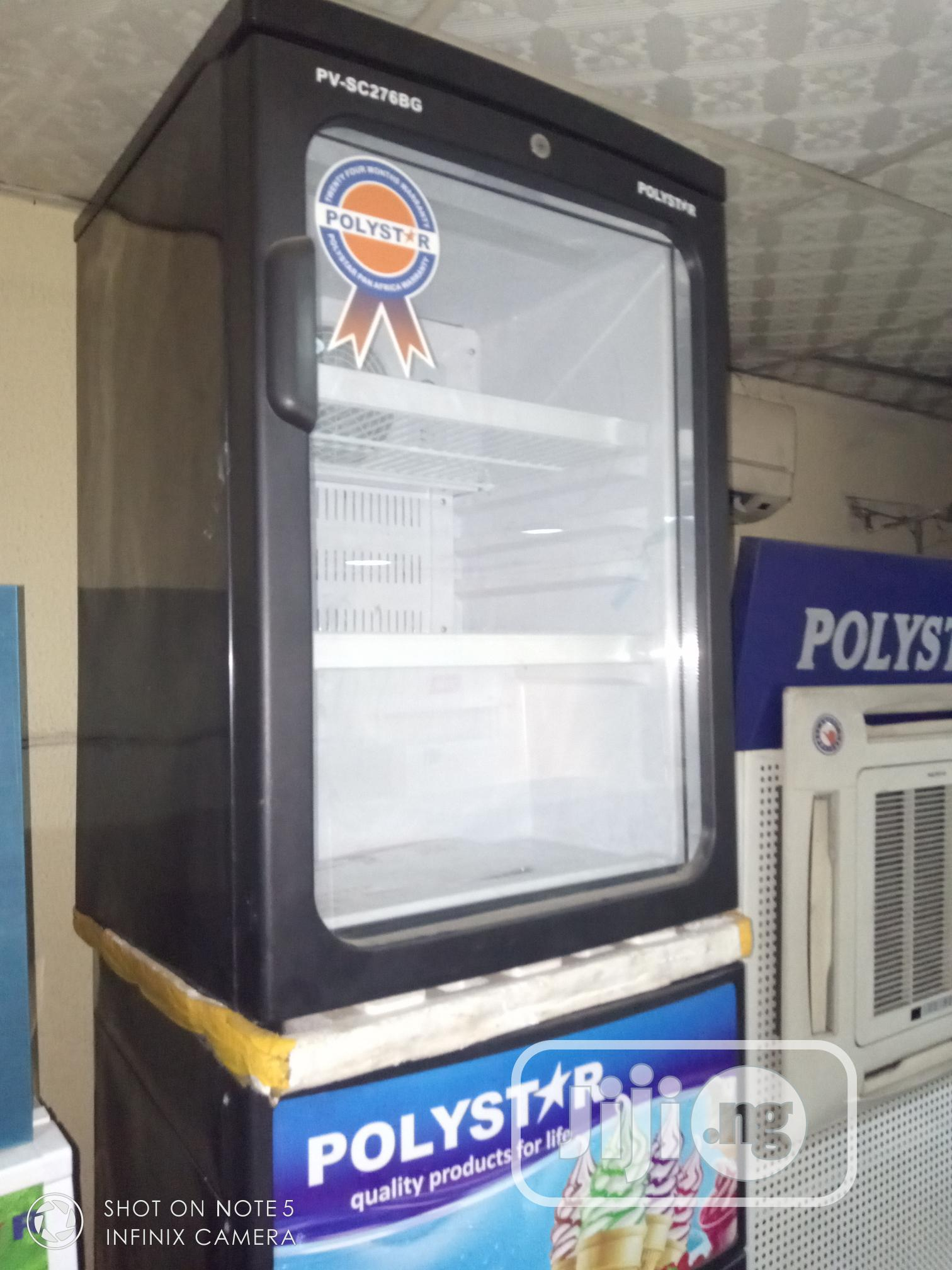 ✓ Polystar Bar Display Fridge Cool Chiller Showcase 2 Step+Auto Start | Store Equipment for sale in Ojo, Lagos State, Nigeria
