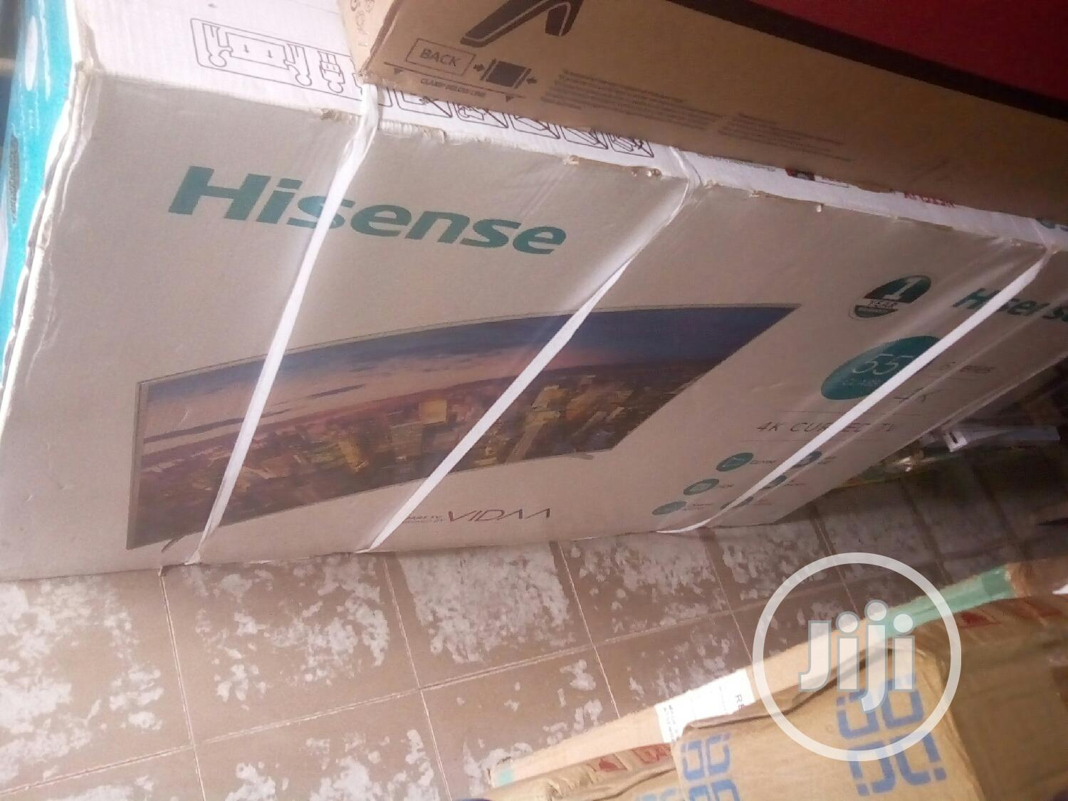 Hisense 55inches Curve Televisions