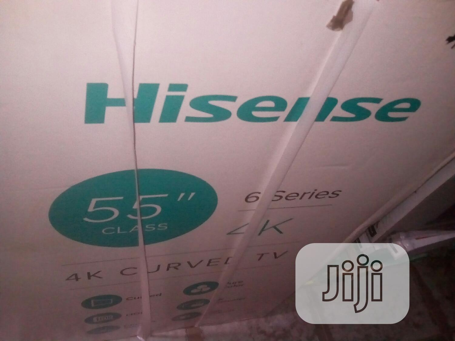 Hisense 55inches Curve Televisions | TV & DVD Equipment for sale in Ojo, Lagos State, Nigeria