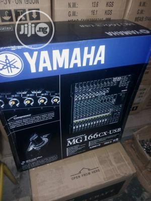 Yamaha Professional 16 Channels Mixer Mg-166cx-usb | Audio & Music Equipment for sale in Lagos State, Ojo