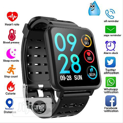 Best Blood Pressure Smart Watch 2019 Android & IOS iPhone Compatible