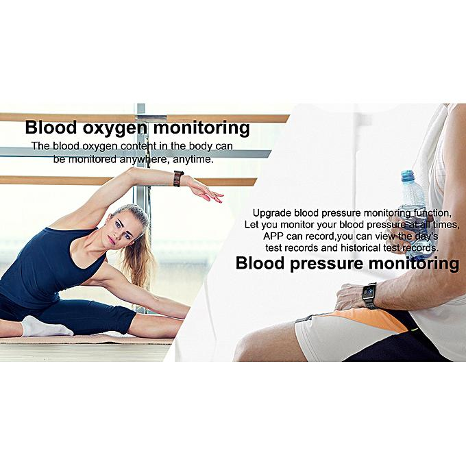 Best Blood Pressure Smart Watch 2019 Android & IOS iPhone Compatible | Smart Watches & Trackers for sale in Ikeja, Lagos State, Nigeria