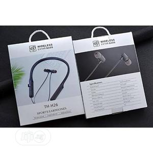 Wireless Extar Bass Th-H26 Sport Earphones With TF Card Port   Headphones for sale in Delta State, Uvwie