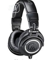 Audio-technica Ath-m50x Monitor Headphones - Black | Headphones for sale in Lagos State, Shomolu